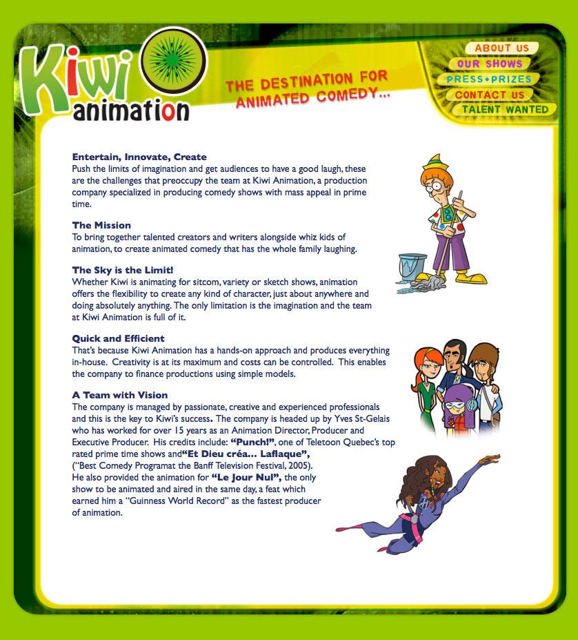 2007 – www.kiwianimation.com
